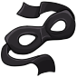 Black Bandit Mask