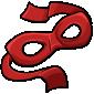 Red Bandit Mask